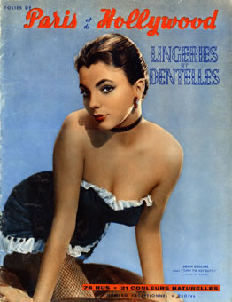 Paris Hollywood, lingeries et dentelles