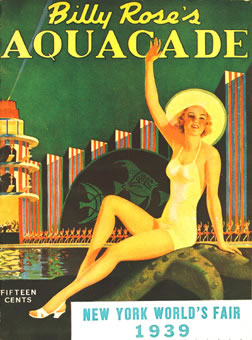 Billy Rose's Aquacade, avril 1939